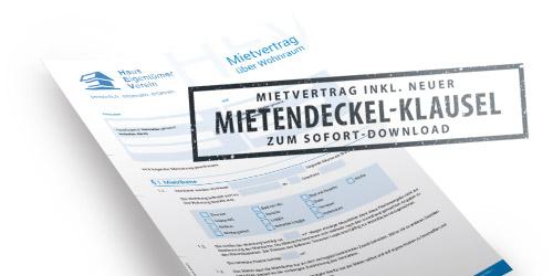 kostenfreier Mietvertrag mit Mietendeckel-Klausel für Schattenmiete zum Download | MietenWoG Bln